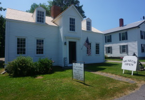 The Holmes Cottage is now an open museum in the summer months.