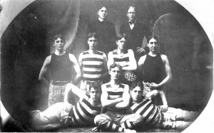 The Calais Academy Football Team of 1903-04.
