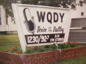 WQDY Radio station - photo by Tom McLaughlin