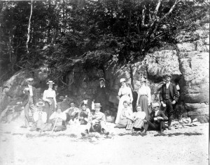 Class of 1898 at Mill Cove Robbinston