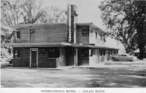 International Motel early days