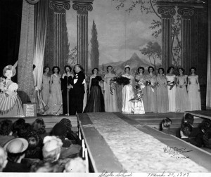 Unobskey fashion show March 30, 1949