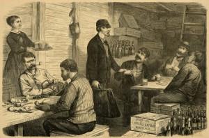 Calais smugglers 1873