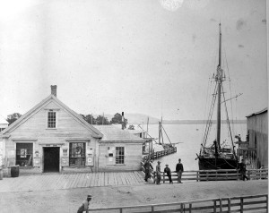 General Store at Red Beach 1890