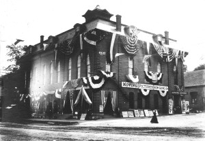 The St. Croix Opera House in 1910. Women and children gained admittance for 5 cents.