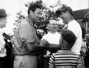Ted Williams at Frontier Week 1961