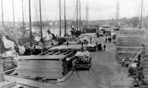 Eaton Wharf, H. F. Eaton July, 12,1916