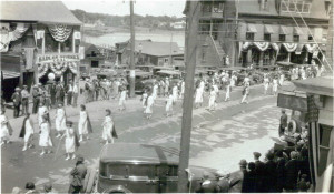 taxi-stand-nurses-marching-1931-legion