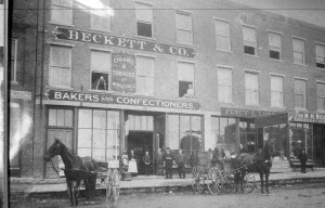 The Beckett Block, circa 1870s