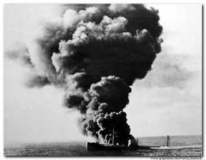 sunk north atlantic November 1939, survivors stayed at Park Hotel St stephen