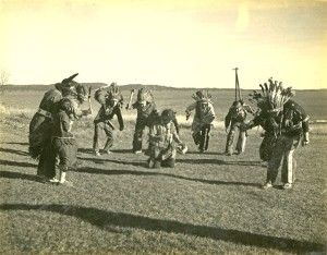 1938 Tribal Dancers Pleasant Point