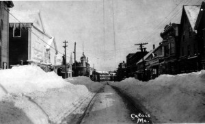 Main Street and Palace Theatre about 1915