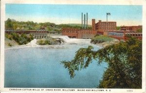 Cotton Mill, where is the second dam