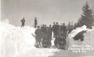 Snow Clearing South Street 1926