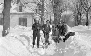 Snow Removal in 1926