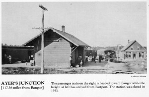 Ayers Junction, Calais stations
