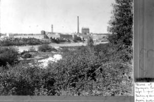 Woodland Sprague falls 1905